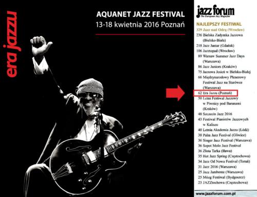 Jazz Forum Top 2016