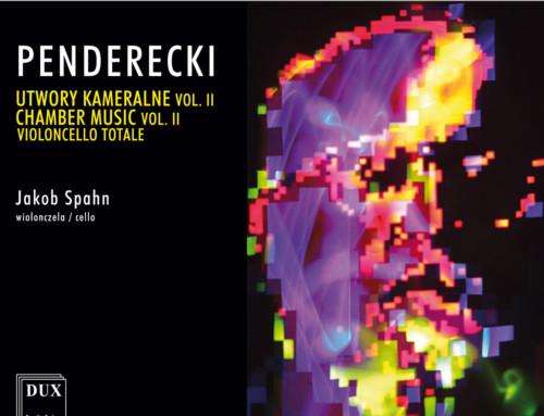 Krzysztof Penderecki – Utwory Kameralne Vol. II Violoncello Totale  – DUX Recordings