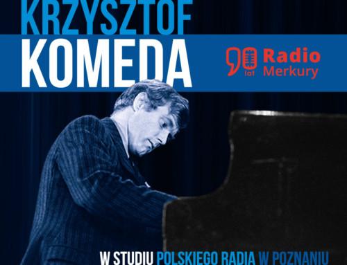 Krzysztof Komeda – W Studiu Polskiego Radia w Poznaniu – PR Poznań