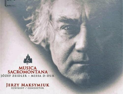 Jerzy Maksymiuk/Józef Zeidler – Musica Sacromontana – DUX Recordings