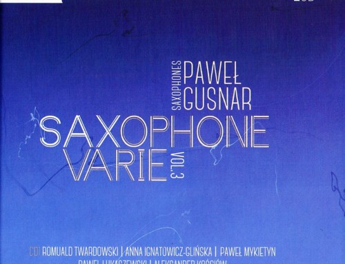 Paweł Gusnar – Saxophone Varie 3 – Chopin University Press