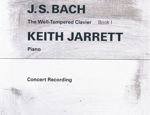 Keith Jarrett – J.S.Bach:The Well-Tempered Clavier – ECM Records
