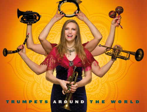 Saskia Laroo – Trumpets Around The World – Laroo Records