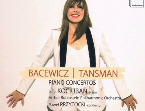 Julia Kociuban – Bacewicz/Tasman:Piano Concertos – DUX Recordings